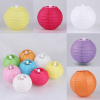 Wholesale Fashion Chinese Paper Lantern Christmas Wedding Party DIY Decoration quot cm Round Flying Lanterns ZWZ