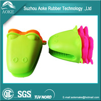 Wholesale Heat resistant Silicone Gloves Kitchen Essential Tool Oven Mitts Gloves x10x10 cm