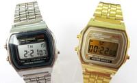 battery change watch - 10pcs F W watches f91 fashion thin LED change watches F W sport watch