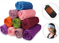 Wholesale Champion lengthen thickening yoga mat slip resistant yoga towel fitness blanket