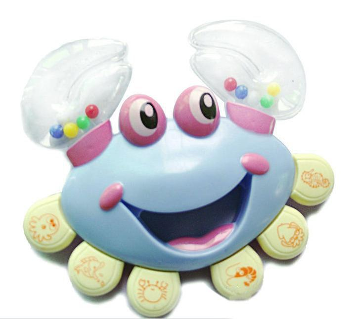 Best Cheap Baby Toys : Wholesale baby rattle crab style newborn