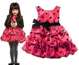 Wholesale Stock Retail Latest Design Hot selling Girls Summer Dresses Dot Cake Dress Princess Dress Prom Dresses Party