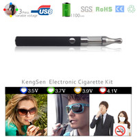 Cheap Wholesale-BLACK electronical Zigarette evod e liquid for Elektronische Zigarette cigarrillos electronicos smoking (evod 1 tank)
