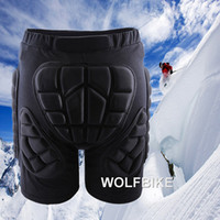 Wholesale Unisex Motorcycle Snowboard Skating Roller Sports Racing Ski Safety Protection Bike Riding Armor Shorts Hip Protector W1049A
