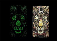 Forest King Series Glow Plastic Case For Iphone 5 5S in dark...