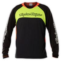 uv t-shirt - 2015 TLD SPRINT GWIN MTB JERSEY BIKE CYCLING DOWNHILL MX T SHIRT CYCLE BICYCLE JERSEYS BLACK FLO