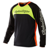 Wholesale NEW TROY LEE DESIGNS TLD SPRINT GWIN MTB CYCLE BICYCLE JERSEY BLACK FLO ALL SIZES