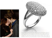 bella band size - High quality Twilight Bella alloy diamond ring