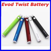 Electronic Cigarette EVOD Twist Battery Variable Voltage Bat...