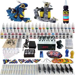 Wholesale Sale Tattoo Kit Beginner Machine Gun Power Supply tattoo kit TK223