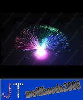 fiber optic flowers - LED fiber optic flower Colorful holiday optical fiber lamp small night light optical fiber flower HSA0914