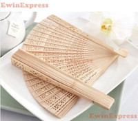 wooden hand fan - 500x New Vintage Folding Bamboo Wooden Carved Hand Fan Wedding Bridal Party Great Gift Brand New Good Quality