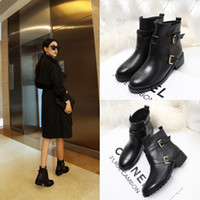 Cheap Full Grain Leather Winter Sexy Hot Ankle Boots For Women Latest Design Leather Wool Lined Boots Boots Nude Women