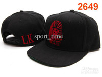 Wholesale Brand Last Kings Snapbacks Brand New Cool Best Custom Snapback Hats Red Logo Embroidery Flat Brim High Qualtiy Cheap Adjustable