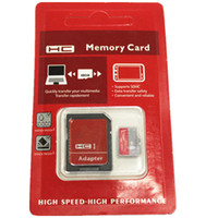 Retail Adapter 64GB 128GB Classe 10 UHS-I Micro SD TF carte mémoire SD gratuite Blister Package microSD SDHC Card 0001