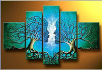 Cheap More Panel canvas oil painting Best Oil Painting Abstract abstract figure painting
