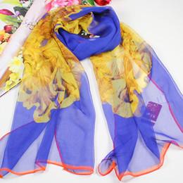 Wholesale High quality hijab fashion Chiffon Scarf chiffon imitate silk scarf Charming Pure Scarf