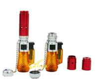 Wholesale 2014 Electronic Click N Vape Incense Burner Dry Herbal Vaporizer Smoke Torch Lighter N Vape by DHL Free Ship