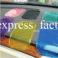 apple sticky pads - New Car Dashboard Sticky Pad Mobile Phone GPS Anti slip Mat Holder for iPhone S G S HTC Samsung