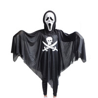 Wholesale Halloween Costume Masquerade Adults And Children Clothes Props Skull Skeleton Ghost Pirates Sickle Ghost Clothes Devil Mask