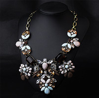 Wholesale High quality jc jewelry necklaces pendants women chokers chunky statement necklace accessories N286