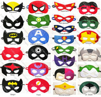 Wholesale Halloween mask for children cosplay eye mask party mask masquerade masks performance mask superman Batman mask Eye Shade for superman cape