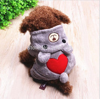 Wholesale new brand cheap winter dog cat cloth for small dog cute cachorro pet clothing for chihuahua toddle costume