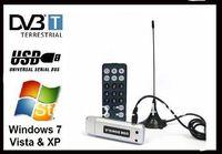 Cheap Satellite TV receiver USB DVB-T 2.0 Digital TV Stick Digital HDTV TV Tuner Digital TV Receiver For PC Laptop+Retail box