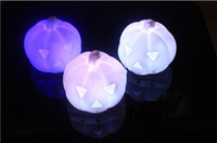 Wholesale changeable colors led pumpkin lamp led Cushaw light Easter Day holiday party Festival decoration HSA0919