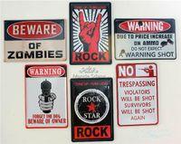 Wholesale Retro Metal Wall Sign Tin Plaque Pub Wall Bedroom Vintage Decor Garage Keep Out CM x CM