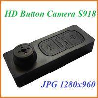Wholesale Mini Button Camera Build in GB Spy hidden camera S918