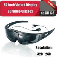 Wholesale inch full color LCD micro display Screen Virtual Cinema Digital Video Eyewear Glasses Detachable XM173