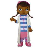 Wholesale 2015 NEW Doc McStuffins mascot costume McStuffins adult mascot costume Doc McStuffins mascot costume