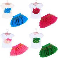 Wholesale Spot Korean children s clothing manufacturers KT KT suit girls suit veil veil suit