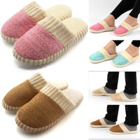 Wholesale 2014 new fashion Multi Colors lovers winter warm cotton Slippers T02