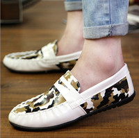Wholesale Hot Sale HEADFIRST Genuine Leather Handmade Driving Shoes Fashion Sneakers New Brand Designer Flats men s Loafers For Men LF004
