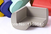 Wholesale 20Pcs Child Baby Safety silicone Protector Table Corner Edge Protection Cover Children Edge Corner Guards