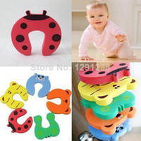 Wholesale 1PCS Baby Children Child Protecting Product Baby Safety Door Stopper Safe Anticollision jsc3R