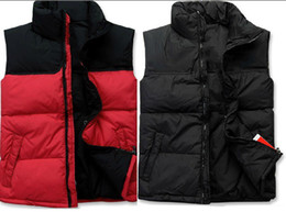 Wholesale Hot Men s wear spring and autumn and winter men s fashion casual men and women pass down vest vest new authentic men Corset Outwear