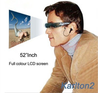 Wholesale New HD digital video sunglasses with inch LCD display and GB memory card slot support max GB memory DHL