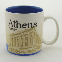 Wholesale New oz Starbucks mug coffee cup City Global Icon Collectors Series Athens