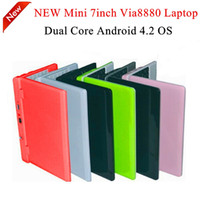 Cheap android laptop Best 7inch via8880 laptop