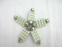 Wholesale 20pcs mm SMD LED Reading Light Car Dome Festoon Interior Light Bulbs Auto Car Festoon LED Roof Light