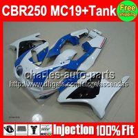 7gifts+ Tank For HONDA CBR250RR blue white MC19 86 87 88 89 C...