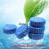 Wholesale 5 Automatic Toilet Bowl Cleaner Deodorizes and Colors up to flushes Novelty household dandys