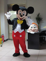 Wholesale 2015 High quality Mickey Mouse mascot costume Mickey mascot Minnie mascot Minnie mascot