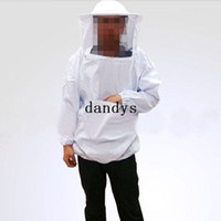 bee veil - Beekeeping Jacket and Veil Bee Dress Smock Equip Professinal Protecting Suit Hot dandys