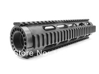 ar cap - AT3 Style AR Tactical Mid Length inch FF Free Float Handguard Picatinny Tube With End Cap