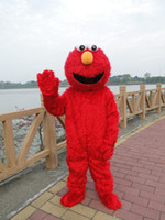 Unisex adult elmo costumes - elmo costumes for adults elmo mascot costume elmo mascot adult clothing sales high quality Long Fur Elmo Mascot Costume