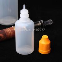Wholesale PE ML Plastic Dropper Bottle With Childproof Cap Tip mL LDPE Plastic Eye Dropper Bottle